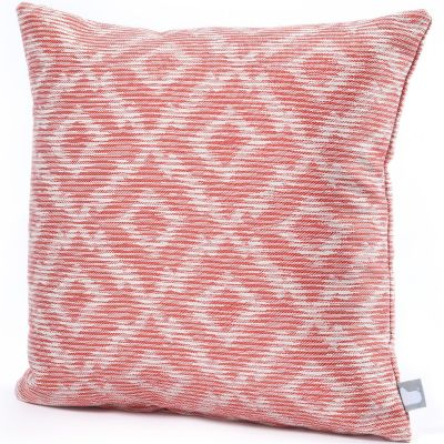 Fabric Scatter Cushion in Santorini Red- Pack of 2
