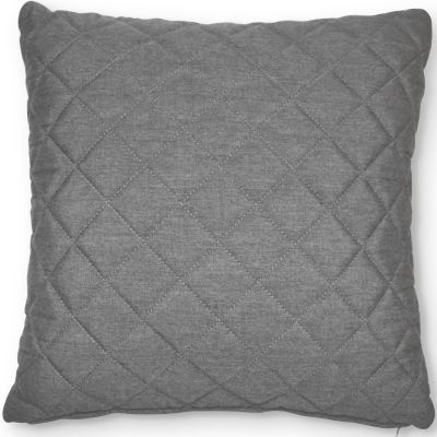 Fabric Scatter Cushion Quilted in Flanelle- Pack of 2