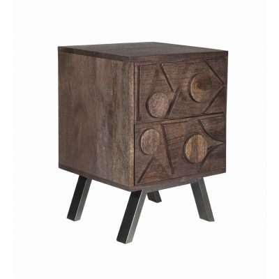 Camberley Mango Solid Wood Bedside Table