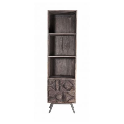 Camberley Mango Solid Wood Tall Bookcase