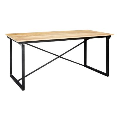 Upcycled Industrial Vintage Mintis Dining Table 6 ft