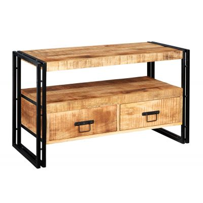 Upcycled Industrial Mintis Tv Cabinet