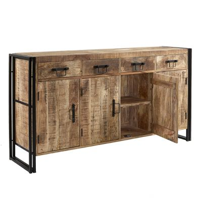Upcycled Industrial Mintis Extra Large Sideboard