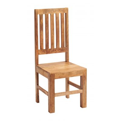 Dakota Light Mango Slat Back Dining Chair ( A Pair )