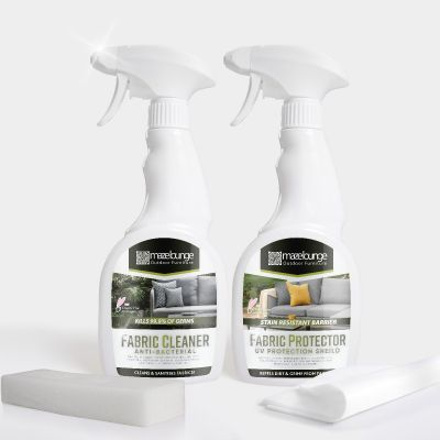 Cleaning Kit and Protector for Outdoor Fabric Furniture