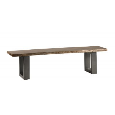 Natural Essential Live Edge Large Dining Bench