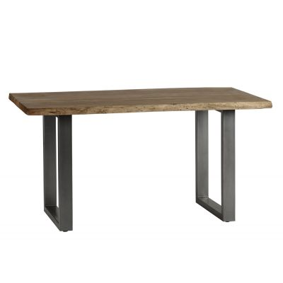 Natural Essential Live Edge Medium Dining Table