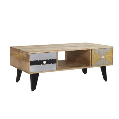 Artisan Limited Edition Coffee Table with Four Drawers
