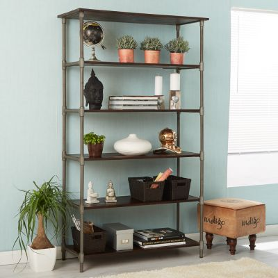 Centra Industrial Wide Bookcase