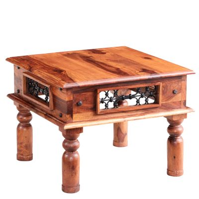 Jali Sheesham Small Coffee Table
