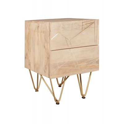 Side Table Dallas Light Mango