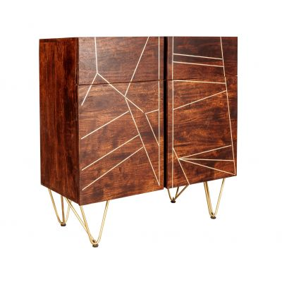 Small Sideboard Dallas Dark Mango