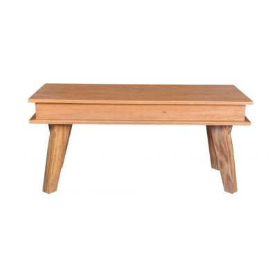 Classic Style Solid Sheesham Wood Small Dining Bench