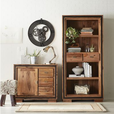 Indus Sheesham Large Bookcase