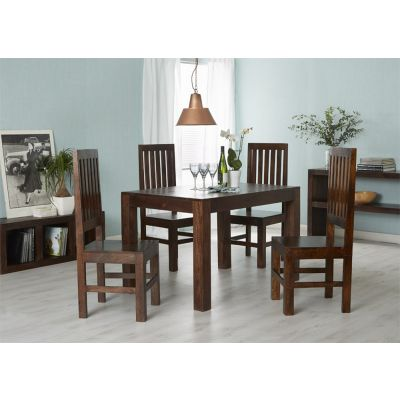 Dakota Mango Small Dining Table 4ft (120cm)