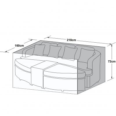 Outdoor Cover for Toronto Daybed