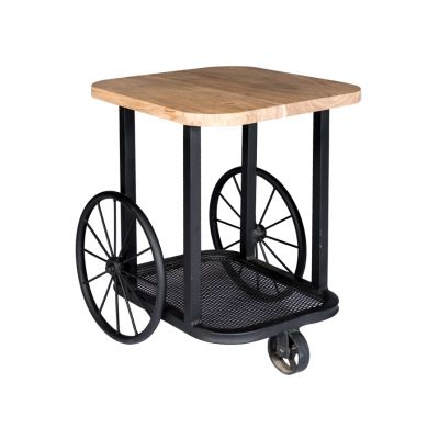 Industrial Creative End Table